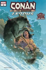 Portada Conan: Exodus