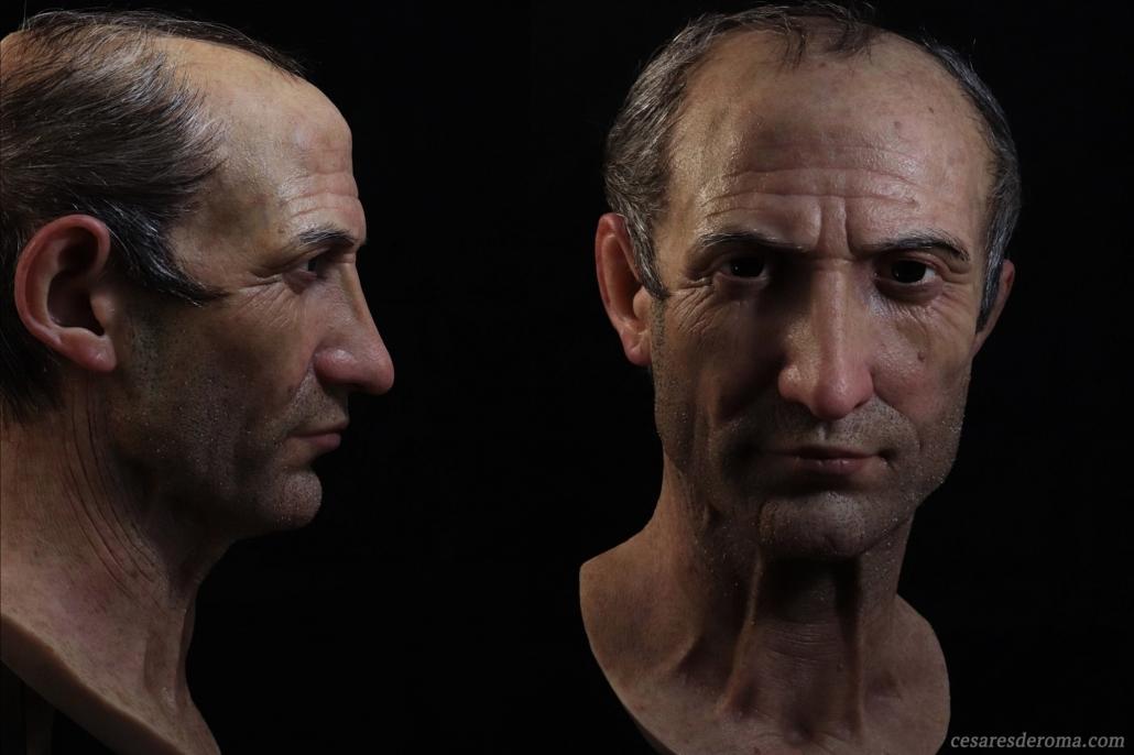 Julio César hiperrealista - 04