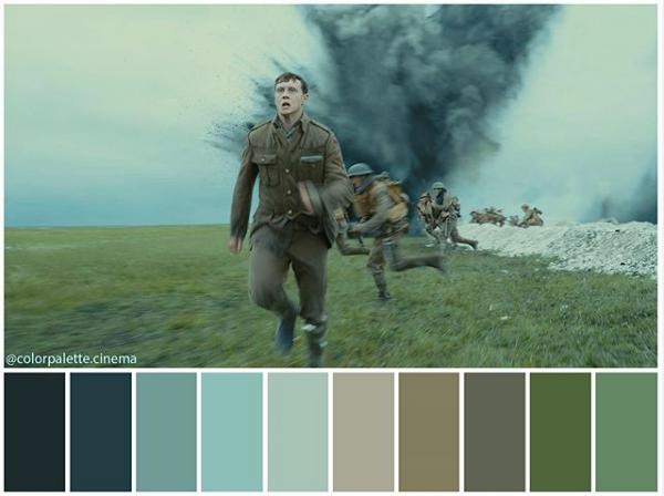 1917 - Paleta de colores