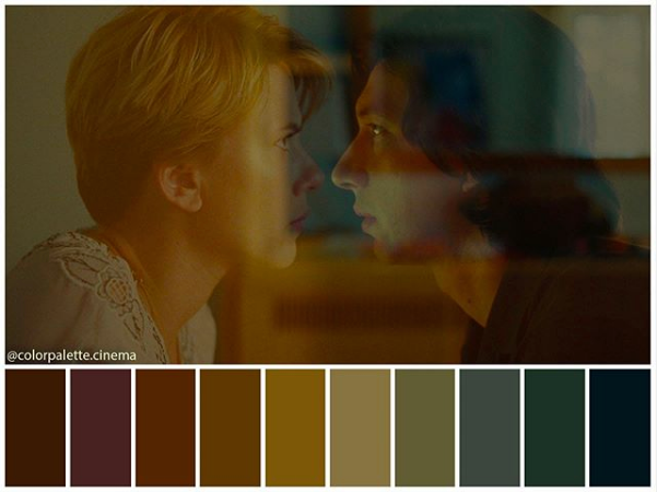 Historia de un matrimonio - Paleta de colores