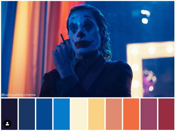Joker - Paleta de colores