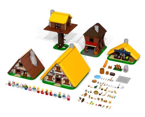 La aldea gala de Astérix Lego
