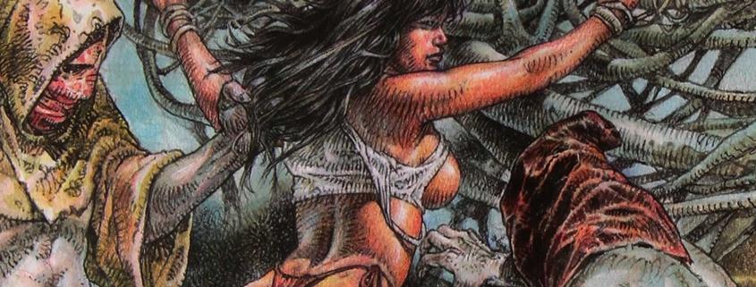 Detalle portada Druuna: Creatura