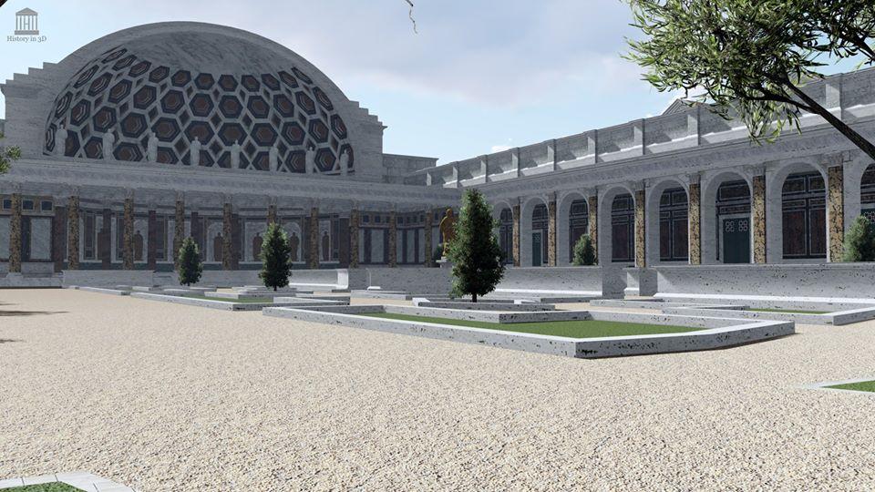 Termas de Trajano 3D - 02