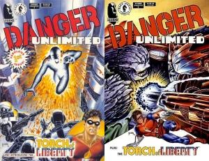 Portadas Danger Unlimited 1 y 2