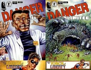 Portadas Danger Unlimited 3 y 4