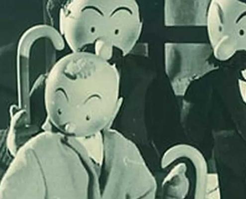 Detalle de El Cangrejo de las Pinzas de Oro (1947)
