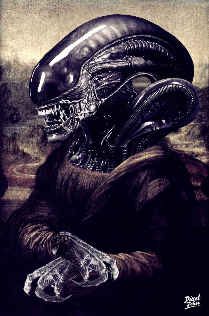 La Gioconda Alien 2