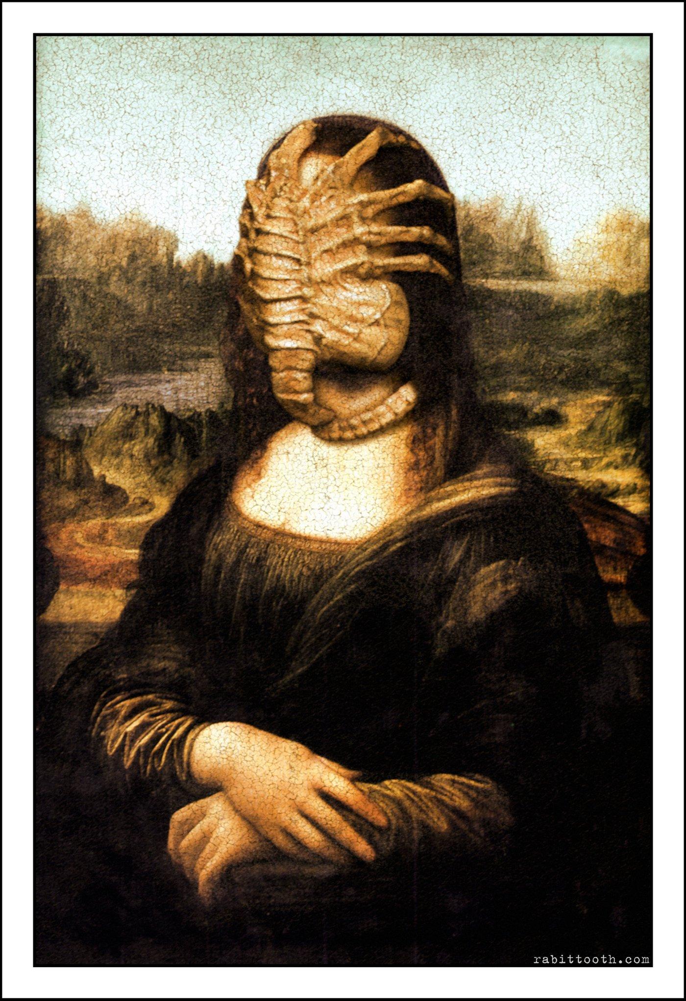 La Gioconda Alien 3