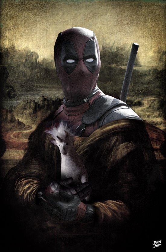 La Gioconda Deadpool
