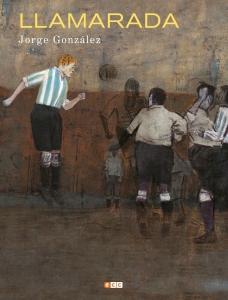 Portada Llamarado de Jorge González