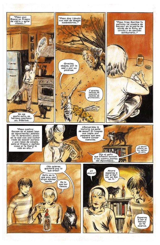Página LAS ESCALOFRIANTES AVENTURAS DE SABRINA. VOLUMEN 1Leer más Páginas Interiores de LAS ESCALOFRIANTES AVENTURAS DE SABRINA. VOLUMEN 1 LINKS Y DESCARGAS  Descubre el Archieverse LAS ESCALOFRIANTES AVENTURAS DE SABRINA - 01