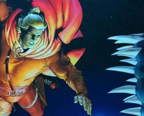 Detalle portada Dragonero: Orígenes