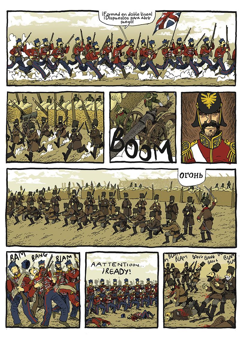 Página La guerra del profesor Bertenev - 01