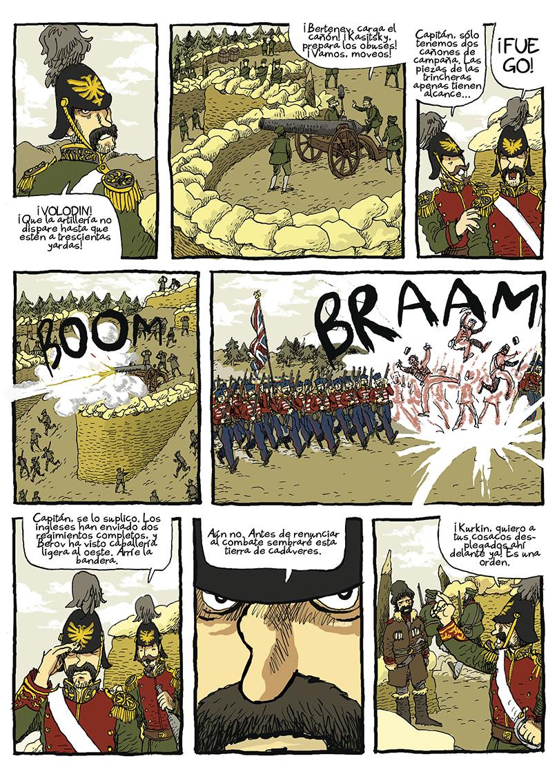 Página La guerra del profesor Bertenev - 02