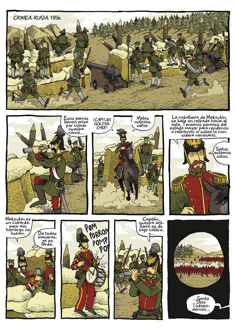 Página La guerra del profesor Bertenev - 03