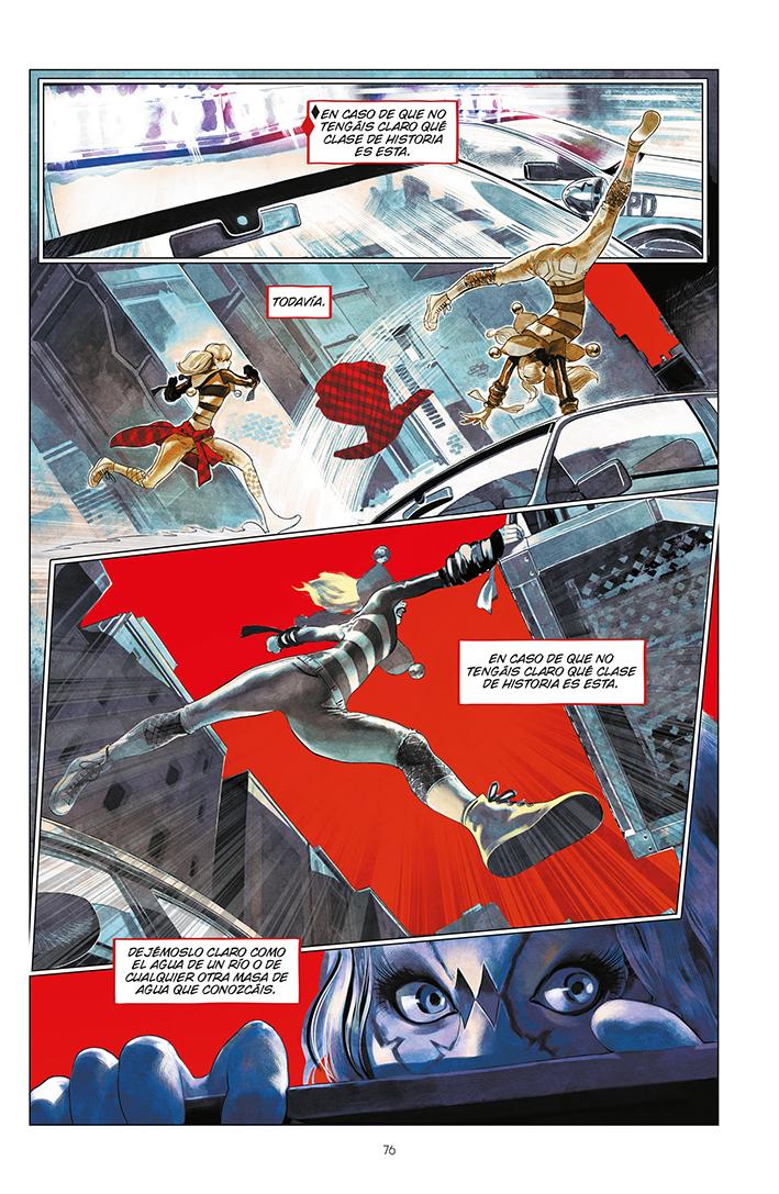 Página Harley Quinn: Cristales rotos - 01