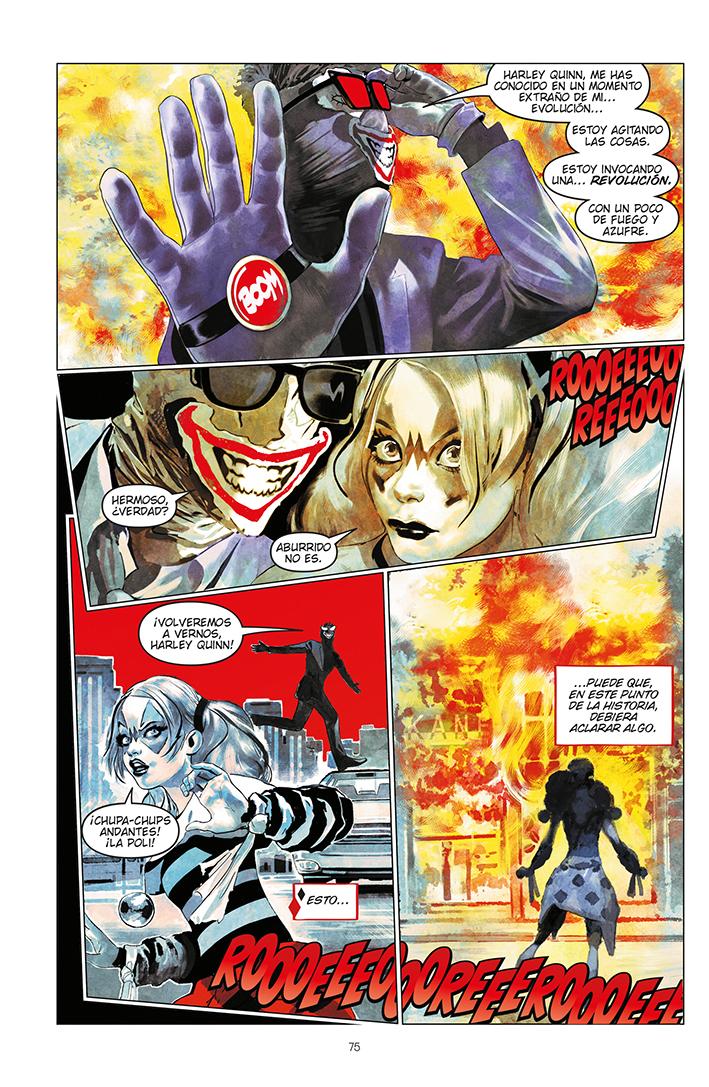 Página Harley Quinn: Cristales rotos - 02