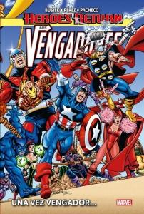 Portada Heroes Return: Los Vengadores