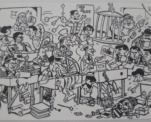 Redacción Editorial Bruguera 1959
