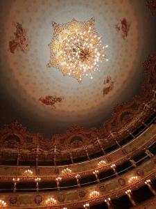Interior de Teatro Barroco