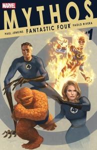 Portada Mythos: Fantastic Four