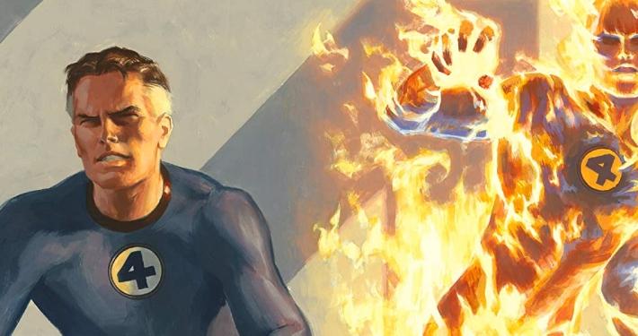 Detalle portada Mythos: Fantastic Four