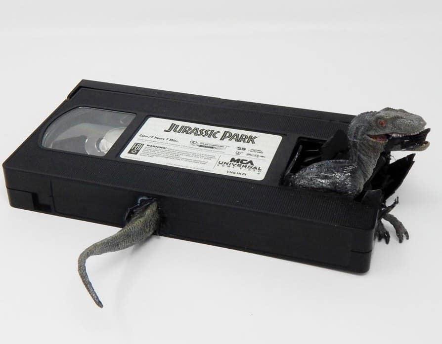VHS Jurassic Park