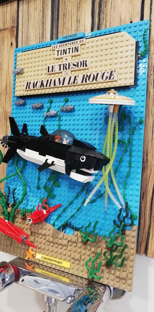 El tesoro de Rackham el Rojo Lego - 03