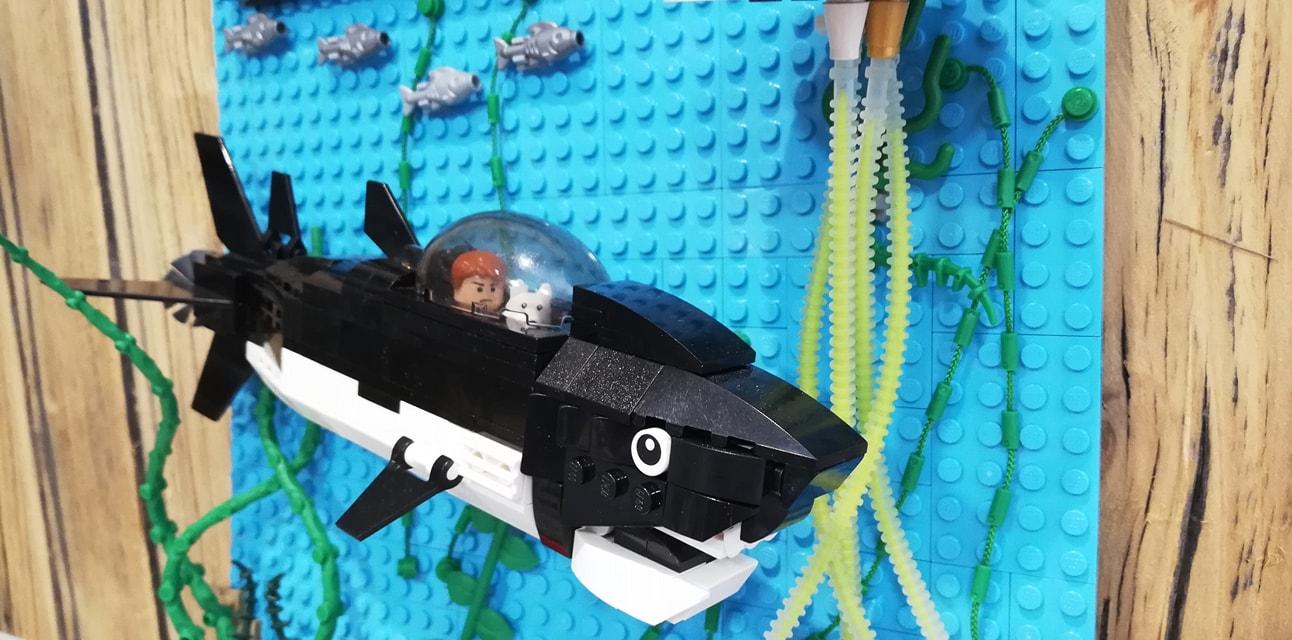 El tesoro de Rackham el Rojo Lego - 04
