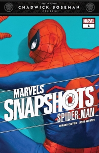 Portada Marvel Snapshots Spiderman