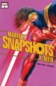 Portada Marvel Snapshots X-Men