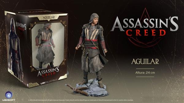 Assassin's Creed Movie - Figura Aguilar (Michael Fassbender)