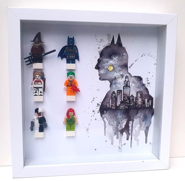 Cuadro de minifiguras Batman