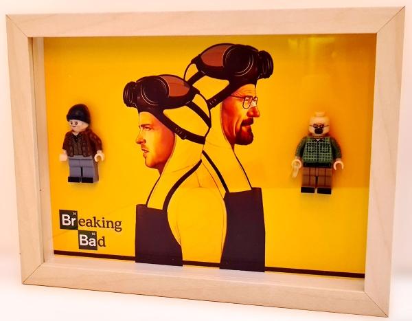 Cuadro minifiguras Breaking Bad