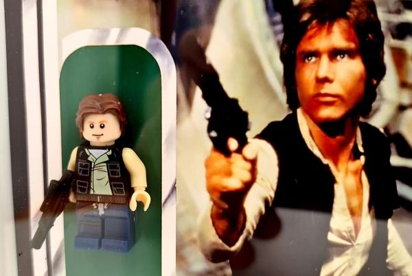 Cuadro minifigura Han Solo (Kenner)