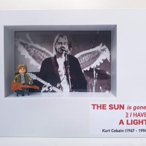 Cuadro minifigura Kurt Cobain