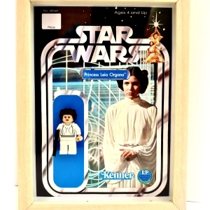 Cuadro minifigura Leia Organa (Kenner)