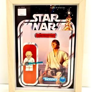 Cuadro minifigura Luke Skywalker (Kenner)