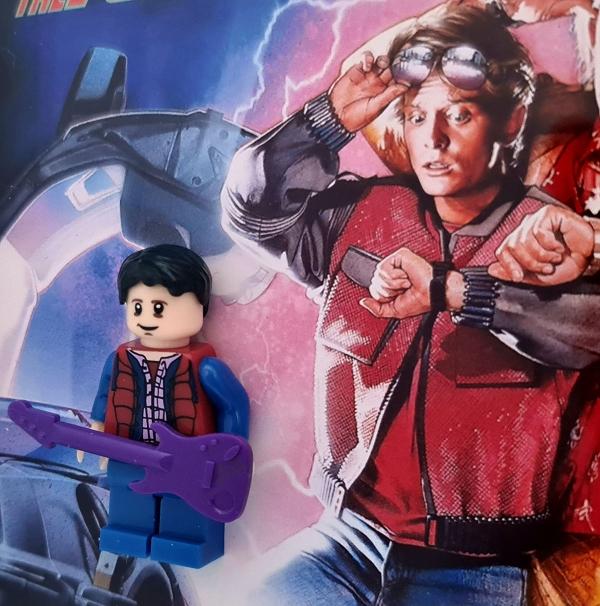 Cuadro minifigura Marty McFly