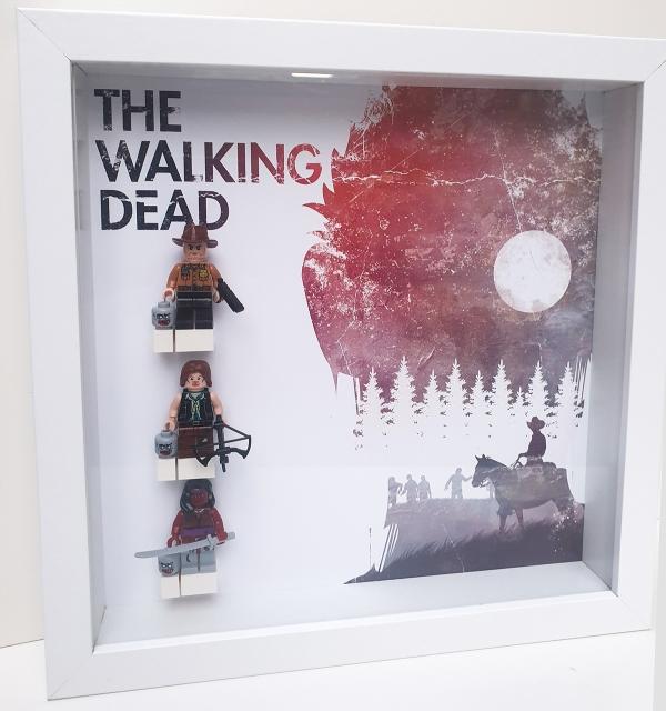 Cuadro de minifiguras The Walking Dead