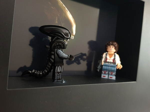 Cuadro minifiguras Alien: el octavo pasajero