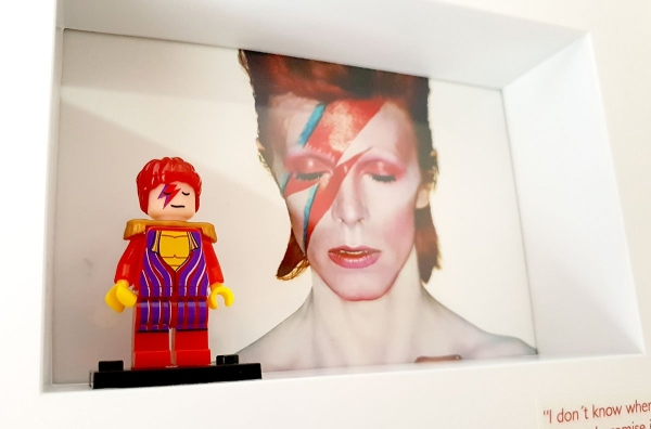 Cuadro minifigura David Bowie