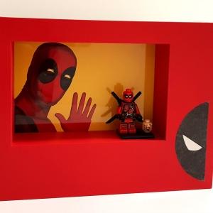 Cuadro minifigura Deadpool