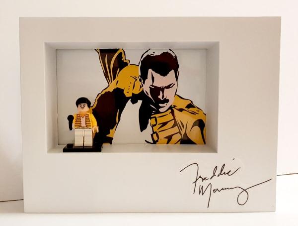 Cuadro minifigura Freddie Mercury