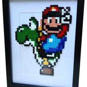 Cuadro Mario (Hama Beads)