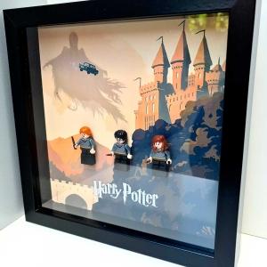 Cuadro de minifiguras Harry Potter