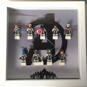 Cuadro de minifiguras Los Vengadores: Endgame