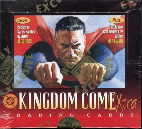 Kingdom Come Xtra trading cards (1996) - Serie completa
