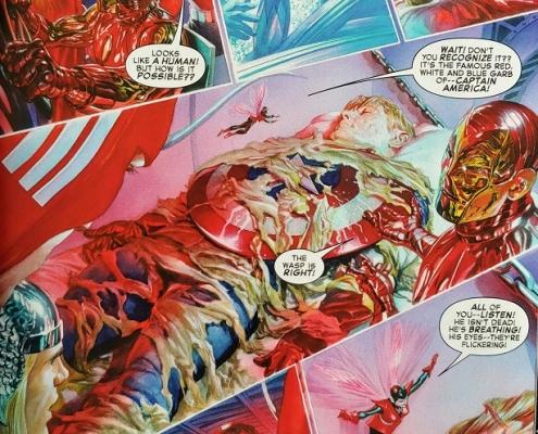 Página Captain America 80 Anniversary Tribute - 03